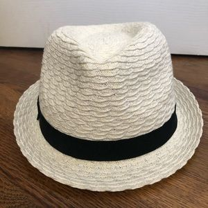 Accessories - White fedora